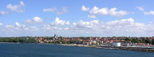 Panorama von Visby