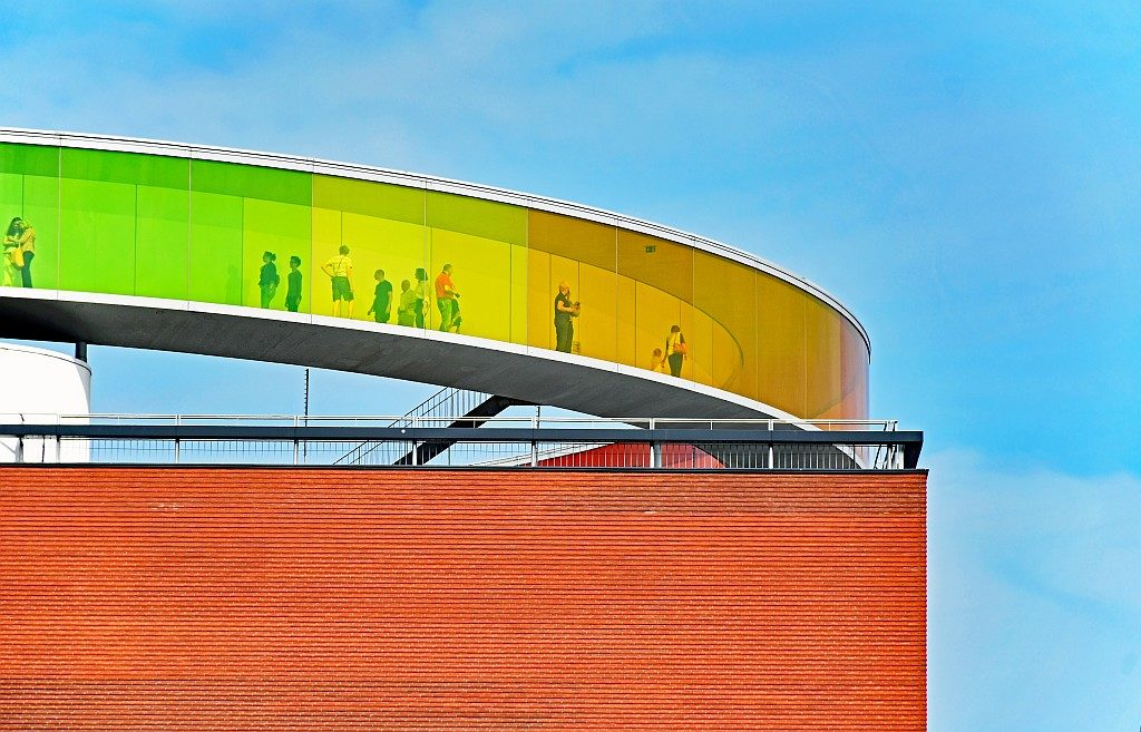 """Your rainbow panorama"" in Aarhus (Dänemark)"