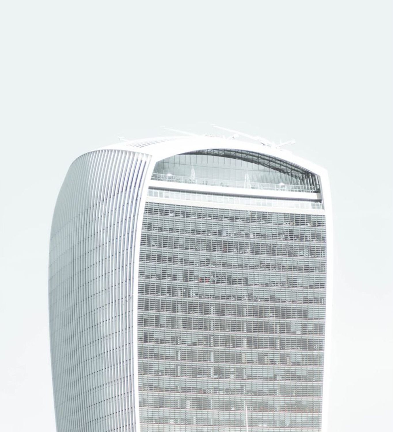 A lumpish building in new york