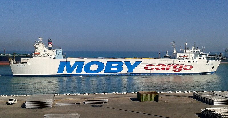 Fährschiff MASSIMO M von Moby Lines (Moby Cargo)